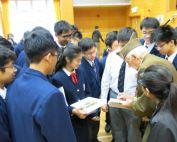 Buchenwald Liberator, Sergeant Rick Carrier, Tours Hong Kong Schools