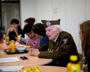 HKIS Students Reflect on Sergeant Carrier's Visit