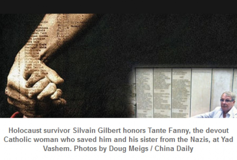 Holocaust Remembrance, China Daily