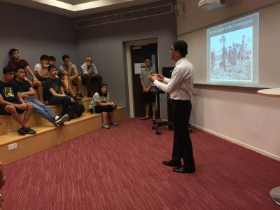 Khamboly Dy, Head of Cambodia's Genocide Education Project, Tours HK Schools