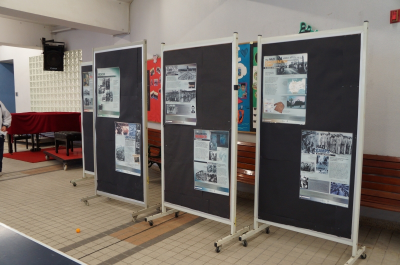 School Holocaust Exhibit 2014