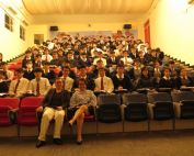 Director of Education Simon Li lectures at local and international schools in Hong Kong
