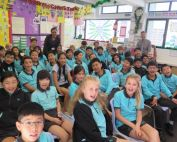 Director of Education Simon Li spoke at Nord Anglia International School