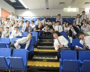 Director of Education lectured at Creative Secondary School