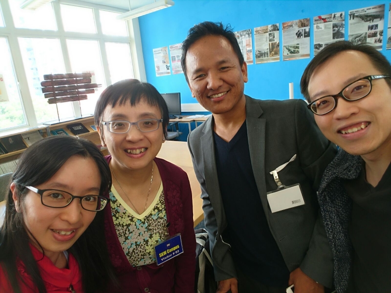 Journalists visited HKHTC Resource Centre