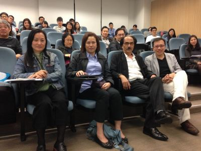 Director of Education Simon Li gave lectures to CUHK's postgraduate students on Holocaust Denial